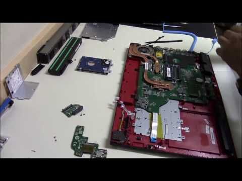How-to-disassemble-replace-keyboard-MSI-GP72-2QD-gaming-laptop