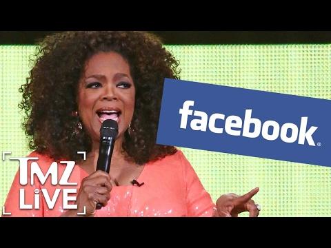 Oprah Loves Facebook LIVE I TMZ LIVE
