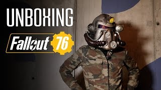 Unboxing: Fallout 76 Power Armor Edition