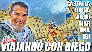 Jijona, Biar, Castalla, Alcoi, Onil, Ibi en Viajando con Diego (Alicante)