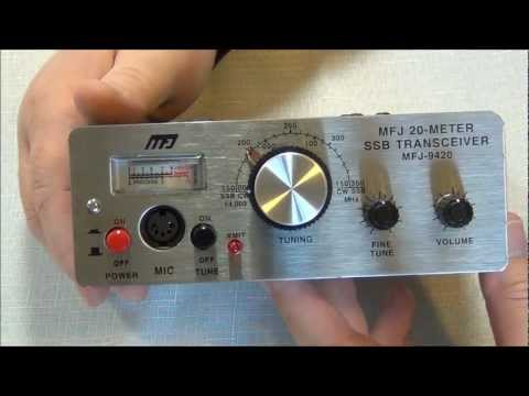 MFJ-9420 20 Meter SSB QRP Transceiver - Introduction and overview