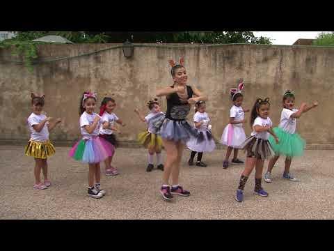 MADAGASCAR - I LIKE TO MOVE IT   ZUMBA KIDS, July Valenzuela