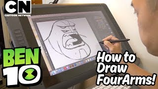 Ben 10 | How to Draw: FOUR ARMS | Cartoon Network
