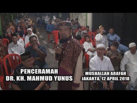 Peringatan Isra Mi'raj Nabi Muhammad SAW  | Sosok DR. KH. Mahmud Yunus