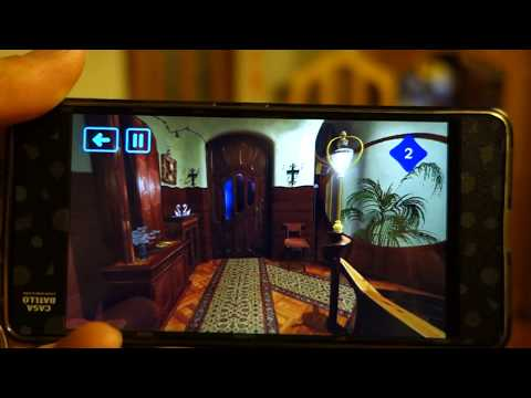 Virtual Reality Tour of Gaudi's Casa Batllo (Part 1)