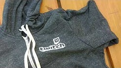 #Twitch Hoodie Unboxing