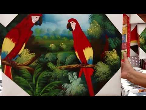 (PL) Local folklore in Dominican Republic 1