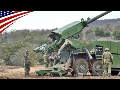 【ロボットアームで自動装填】 カエサル8x8自走砲 (CAESAR)