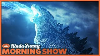 Godzilla: King of Monsters Trailer 2 Reacts - The Kinda Funny Morning Show 12.10.18