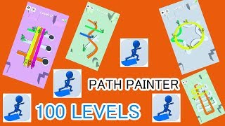 Path Painter - Flawless 100 Levels - Gameplay