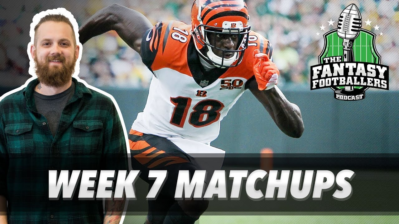 Download Fantasy Football 2017 - Week 7 Matchups, In-or-Out, Boom Boom - Ep. #462