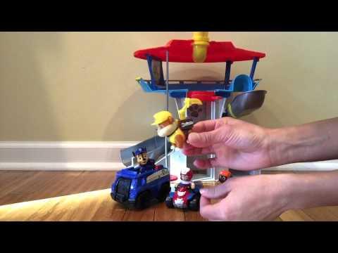d08b80ee06dfde Patrulha Canina Torre de Vigilancia - Sunny - Lookout Playset Paw Patrol -  YouTube