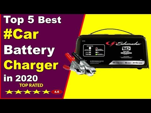 Top 5 Best Car Battery Chargers in 2020 (Buying Guide)
