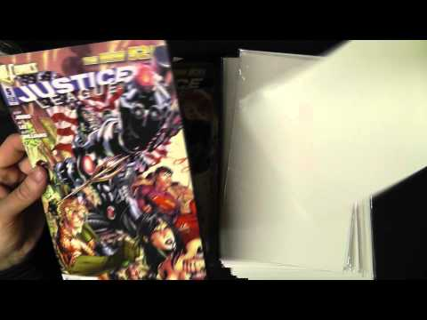 ASMR Bagging and Boarding Comics #2 - Whispering, Rambling,