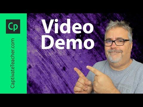 Adobe Captivate 9 - Make a Screen Grab Movie Using Video Demo Feature