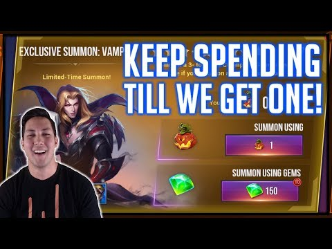 Spending $500 To Summon Myself In Dungeon Hunter Champions