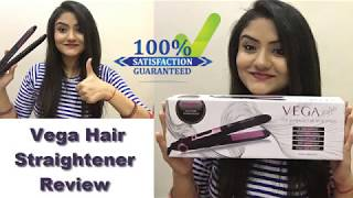 New - Vega Hair Straightener Review and Demo || In hindi || Amazon unboxing