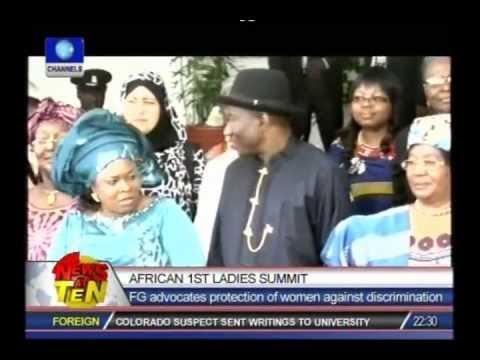 Jonathan pledges support for African women