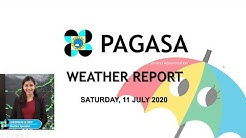 Public Weather Forecast Issued at 4:00 PM July 11, 2020