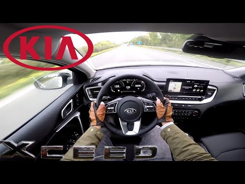 KIA XCeed 1.4 T-GDI (140 PS) Platinum POV Testdrive AUTOBAHN Beschleunigung & Speed