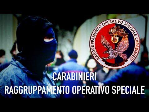 ROS CARABINIERI - RAGGRUPPAMENTO OPERATIVO SPECIALE