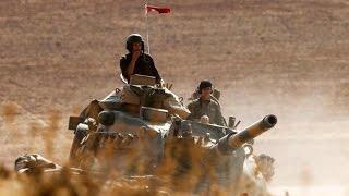 ستديو الآن فيديو 25-08-2016 تركيا تنشر دبابات في جرابلس السورية والحر يطارد داعش