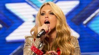 Bianca Gascoigne's audition - Mary J Blige's I'm Going Down - The X Factor UK 2012