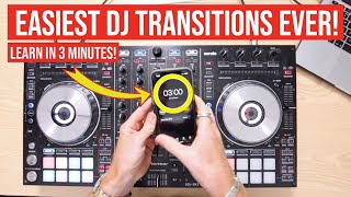 2 of the Easiest DJ Transitions EVER | Learn in 3 minutes!