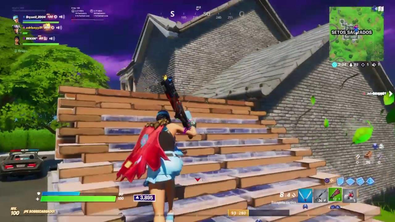 Fortnite Triple Kill Shotty - YouTube