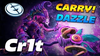 EG.Cr1t- Carry Dazzle - Dota 2 Pro Gameplay