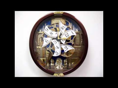 Seiko Garland QXM362BRH Melodies In Motion Musical Clock