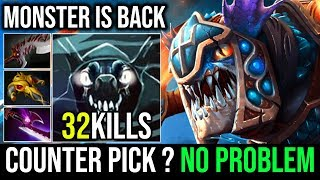REASON WHY SLARK IS A MONSTER VS CANCER BS - How to Deal With Counter Pick 32Kills By QvQ Dota 2