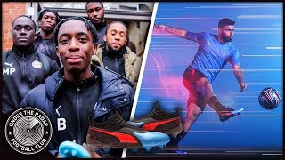 PUMA Football Challenges W/ Kompany, Sakho and Aguero!