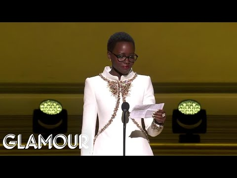 Lupita Nyong'o Shares Her Empowering Advice at the Glamour Women of the Year Awards