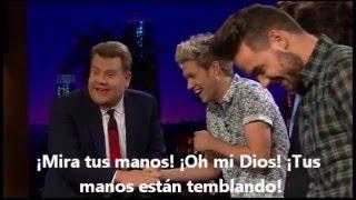 One Direction juega Tattoo Roulette: Parte 1. (Subtitulado)