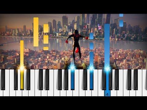 Post Malone, Swae Lee - Sunflower (Spider-Man: Into The Spider-Verse) - Piano Tutorial