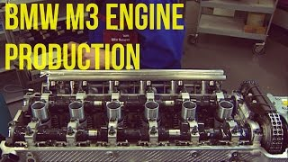 BMW M3 (E46) 3.2 Litre 6-cylinder Engine Production