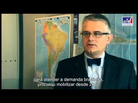 """""""Le Brésil est un modèle d'inspiration pour un développement durable"""" - Philippe Orliange"""