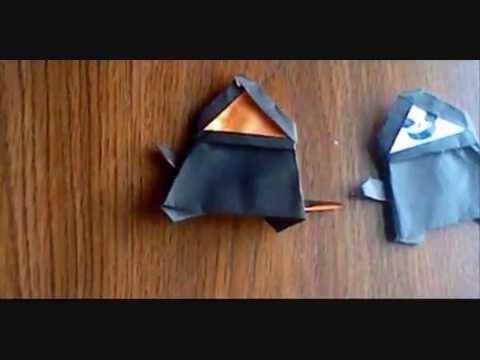 origami emperor palpatine instructions youtube