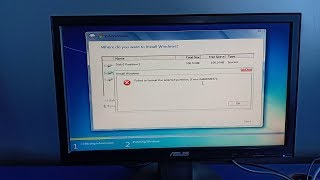 [Solved Error: 0x80070057] Failed To Format the Selected Partition | While installing Windows OS