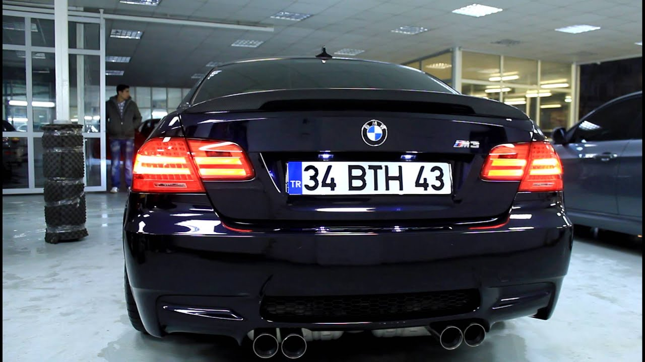 Bmw M3 Performance Exhaust Cold Start E92 Full Hd