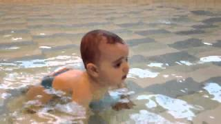 Ayoub à la piscine