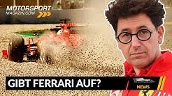 Gibt Ferrari die Saison für 2021 auf? - Formel 1 2020 (News)