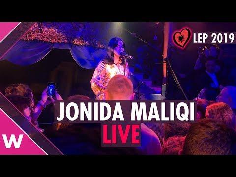 "Jonida Maliqi ""Ktheju tokës"" (Albania) LIVE @ London Eurovision Party 2019"