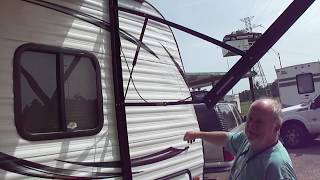 2014 PrimeTime Avenger ATI 27BBS Travel Trailer Demo