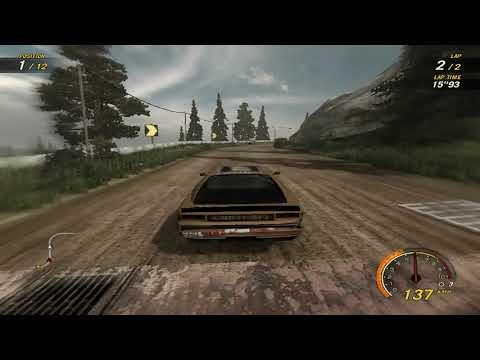 flatout 3 : race 30 with my car of splitter