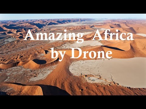 Best Drone Video of Botswana and Namibia. Africa