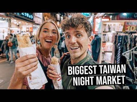 This is Taiwan's Biggest Night Markets | Exploring Taichung City