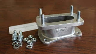 Foundry - casting & machining a carb adapter
