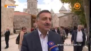 В Армении шейх Шарджи отреставрировал Церковь